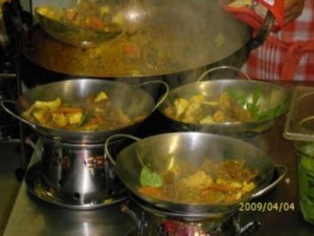 """""""HAUPTGERICHT"""" Gelbes Curry - Rezept"""