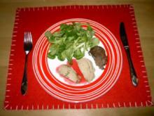 Geflügellebermousse mit Johannisbeer-Portwein-Gelee - Rezept