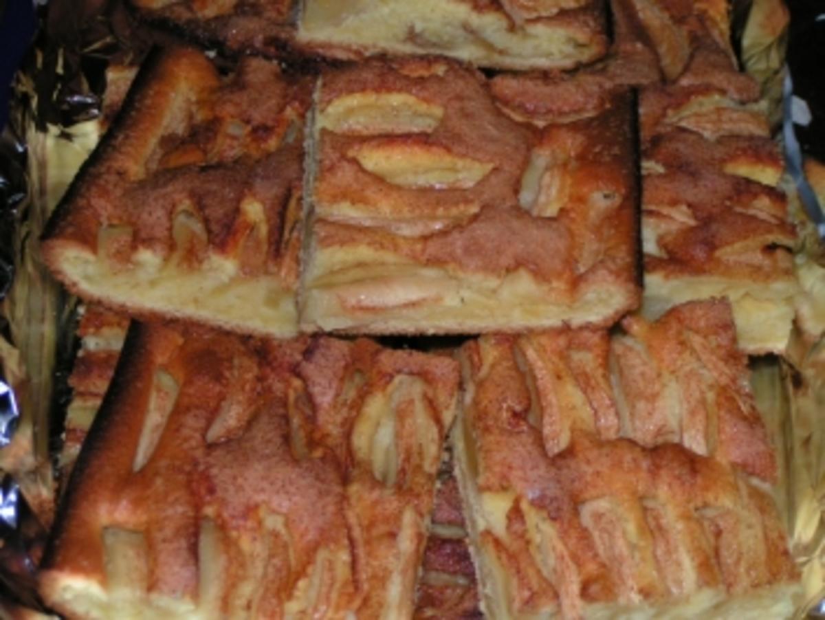 Bilder für Apfelkuchen vom Blech - Rezept