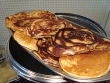 Frühstück - American Pancake ( für den Osterbrunch ) - Rezept