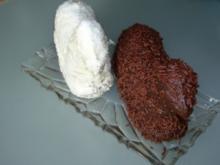 Osterlämmer Black and White - Rezept