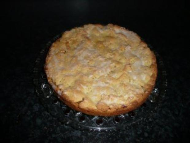 Apfelkuchen - gedeckt - Rezept - Bild Nr. 2