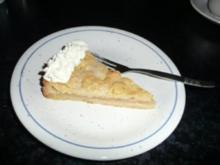 Apfelkuchen - gedeckt - Rezept