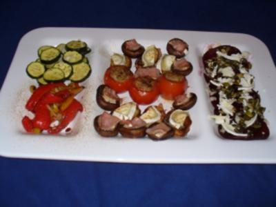 Antipasti - Zucchini - Rezept