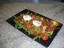 Rucola - Salat mit Ziegenkäse - Rezept