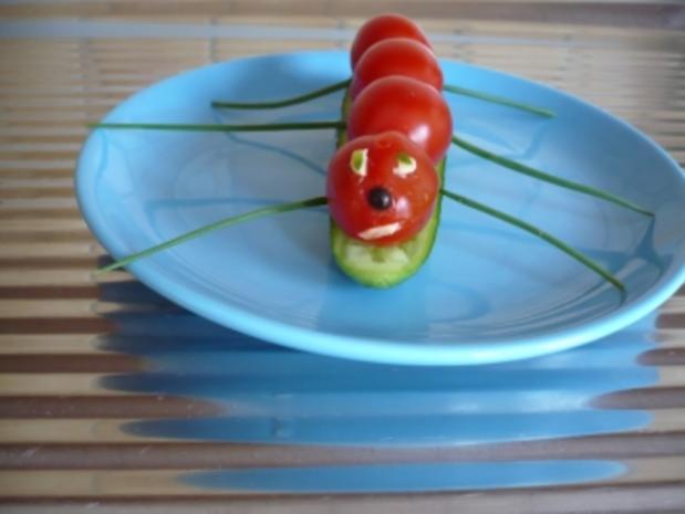 Die Raupe grinst mich an --------- - Rezept - Bild Nr. 5