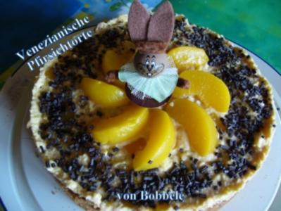 Torten: Venezianische Pfirsichtorte - Rezept