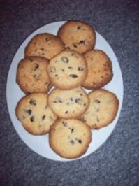 Coconut-Cranberry-Cookies - Rezept