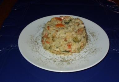 Linda´s schnelle Reispfanne - Rezept