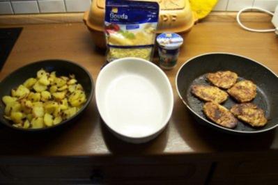 Bratkartoffel-Schweinefilet-Auflauf - Rezept