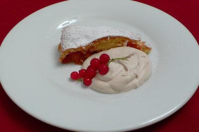 French Pudding mit Nektarinen - Rezept