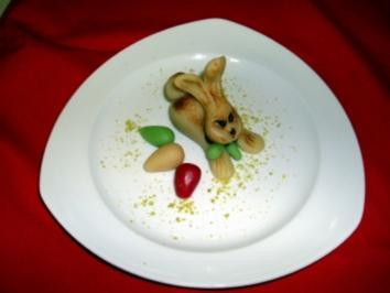 Marzipanhase Zum Osterfest - Rezept