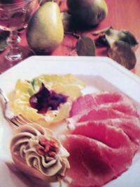 Roquefortbirne mit Rauchfleisch - Rezept - Bild Nr. 3818