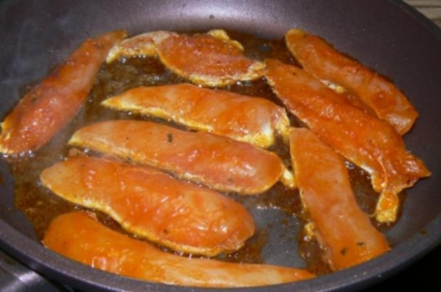 scharfe Zucchini-Kartoffelpuffer treffen auf..... - Rezept - Bild Nr. 8