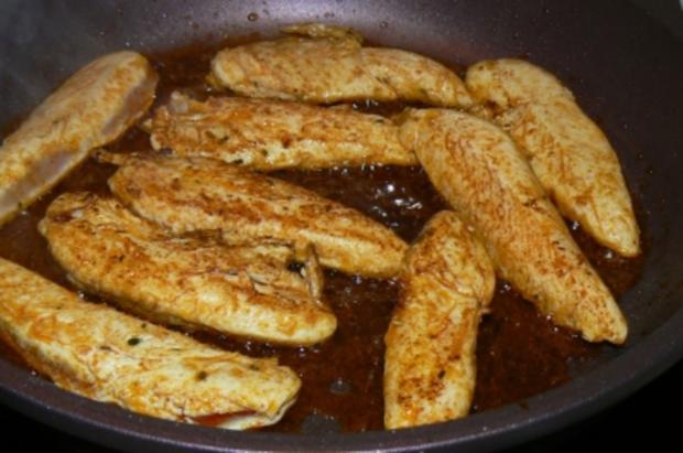 scharfe Zucchini-Kartoffelpuffer treffen auf..... - Rezept - Bild Nr. 9
