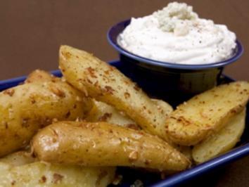 Gefüllte Kartoffelecken - Rezept