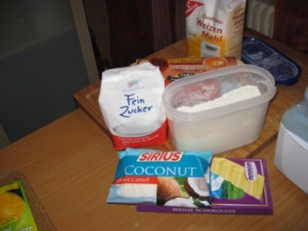 Whities (Brownies) - Rezept