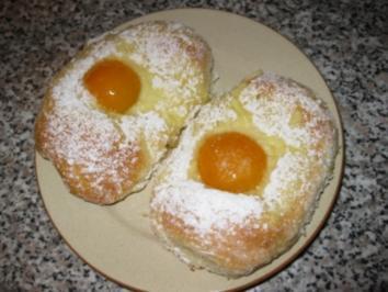 Rezept: Süße Aprikosen - Eier