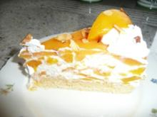 Pfirsich -Maracuja- Torte - Rezept