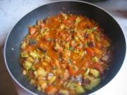 Tomatengemüse Soße - Rezept
