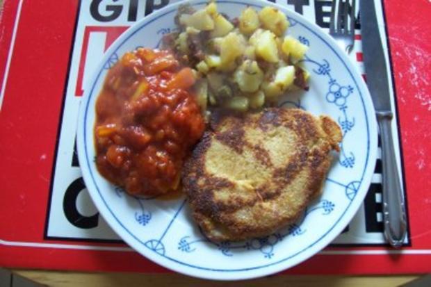 Bratkartoffeln mit Speck und Gurke - Rezept - Bild Nr. 2