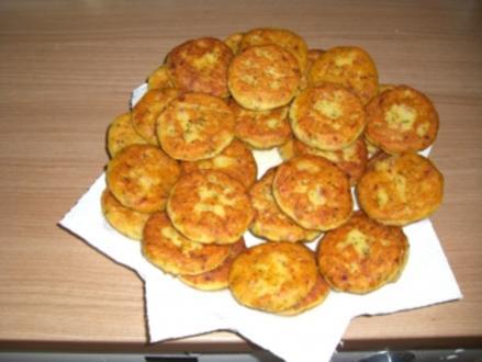 Party-Buffet   -   Kartoffelplätzchen - Rezept