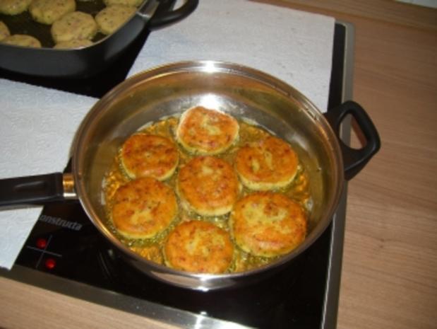 Party-Buffet   -   Kartoffelplätzchen - Rezept - Bild Nr. 3