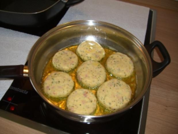 Party-Buffet   -   Kartoffelplätzchen - Rezept - Bild Nr. 2