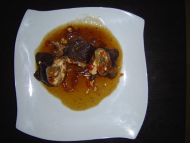 Paprika-Schafskäse-Rouladen - Rezept - Bild Nr. 3