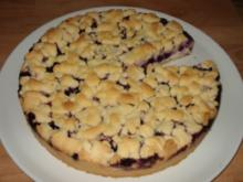 Quarkkuchen mit Heidelbeeren - Rezept