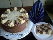 Kuchen  Würfeltorte - Rezept