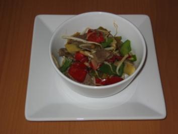 Rindfleisch mit Austernsauce -feurig scharf- - Rezept