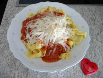 Soßen & Dip´s - Tomatensouce aus Tomaten - Rezept