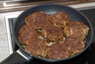 Hackfleisch : Frikadellen - Rezept