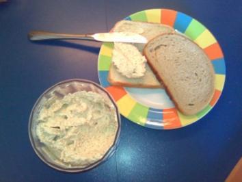 Erdnüsse auf's Brot - Rezept