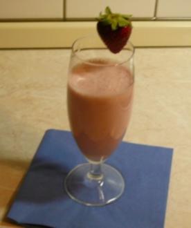 Erdbeer-Kokos Shake - Rezept