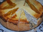 Mohn-Mascarpone-Torte - Rezept
