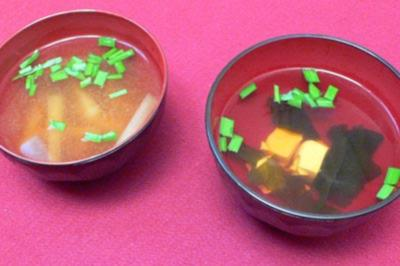 Miso- und Wakamesuppe - Rezept
