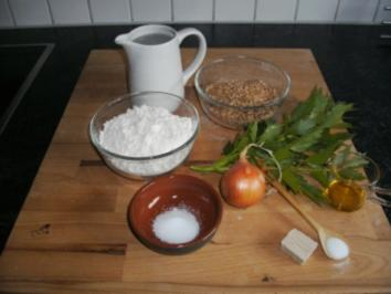 Brote : Maggikraut  ~ Brot - Rezept