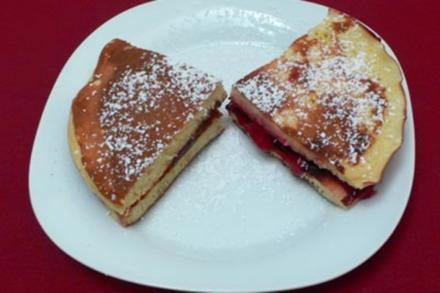 Dorayaki mit zweierlei Füllungen (Pfannkuchen) - Rezept