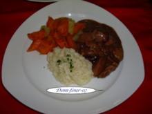 Hühnerbrust in Rotweinzwiebel - Rezept - Bild Nr. 2