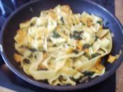 Bärlauchnudeln mit Karotten - Rezept