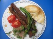 Adana-Kebap auf dem Grill - Rezept