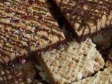 Rice Krispy Squares (Amerikanischer Puffreiskuchen) - Rezept