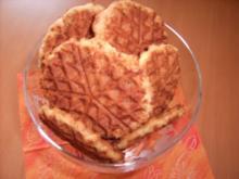 Mandel-Waffel-Kekse - Rezept