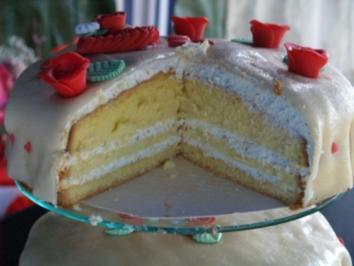 Nuß-Sahne-Torte - Rezept