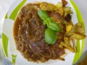 Zwiebelfleisch mit der besonderen Note - Rezept