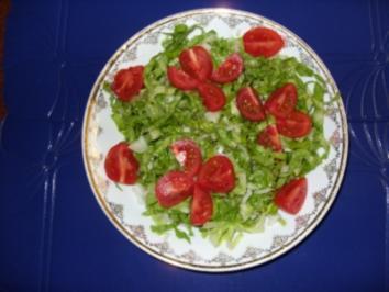 Kleiner Salatteller - Rezept