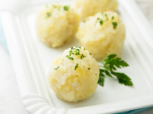 Klöße aus Kartoffelbrei Rest - Rezept - Bild Nr. 2