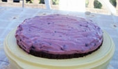 Stracciatella-Kirsch-Kuchen - Rezept